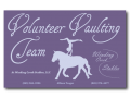 Volunteer Vaulting Banner